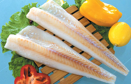 Cá tuyết đen loại nhỏ - Small Cod fish