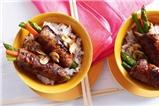 Thịt bò cuộn măng tây ngon ngất ngây bữa cơm cuối tuần